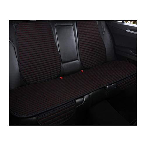 Funda para asiento de coche Cubierta del asiento del automóvil Frontal / trasero Flax Asiento Protegido Cojín Automóvil Asiento Cojín Protector Pad Cubierta Coche Mat Protección Suave y confortable