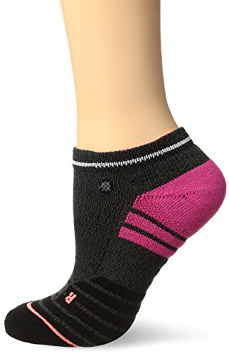 Stance Mujer VILLANA Tobillo Bajo Calcetines - Gris, Medium