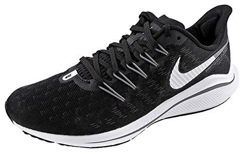 Nike Wmns Air Zoom Vomero 14, Zapatillas de Running Mujer, Negro (Black/White/Thunder Grey 010), 42 EU