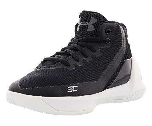 Under Armour Pre-School UA Curry 3 Basketball Shoes 11 M US Little Kid Black