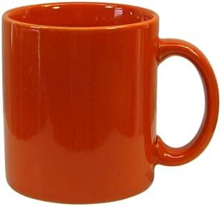 Waechtersbach Fun Factory II Orange Mugs, Set of 4
