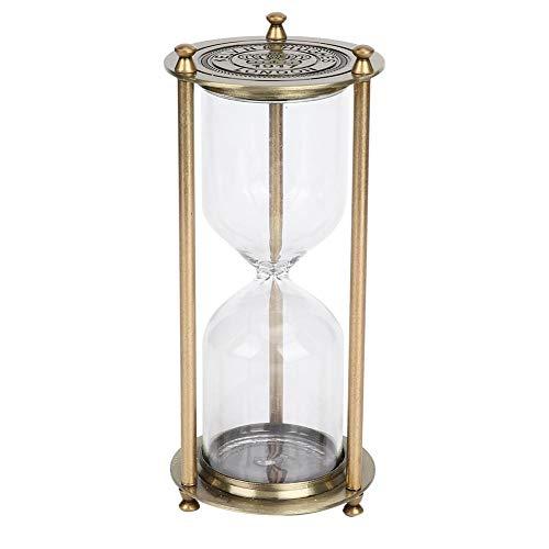 Reloj de arena de mano de obra delicada, reloj de arena de vidrio práctico, hermoso de alta calidad para la oficina en casa(Small self-loading sand)