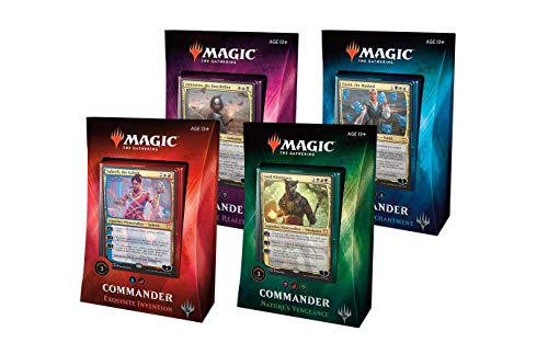 Magic: the Gathering MTG 2018 Commander Set - All 4 Decks