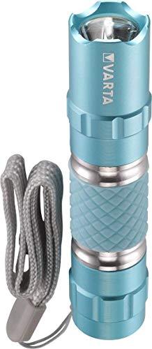 Varta 0,5 Watt LED Lipstick Light (inkl. 1x High Energy AA Batterie lippenstiftförmige Taschenlampe Handtaschenlicht Schlüsselanhänger Taschenlicht Flashlight für Handtaschen, Tragetaschen Rucksäcke)