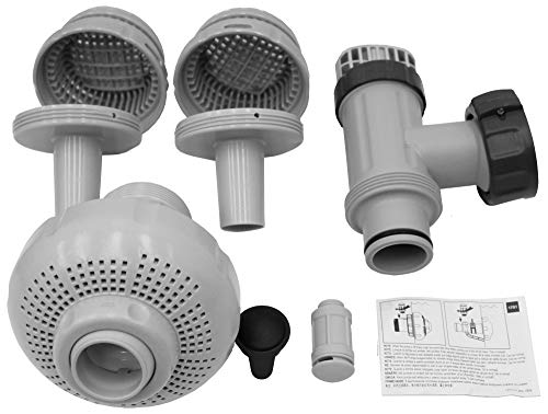 Intex 26005E Above Ground Swimming Pool Inlet Air Water Jet Replacement Part Kit