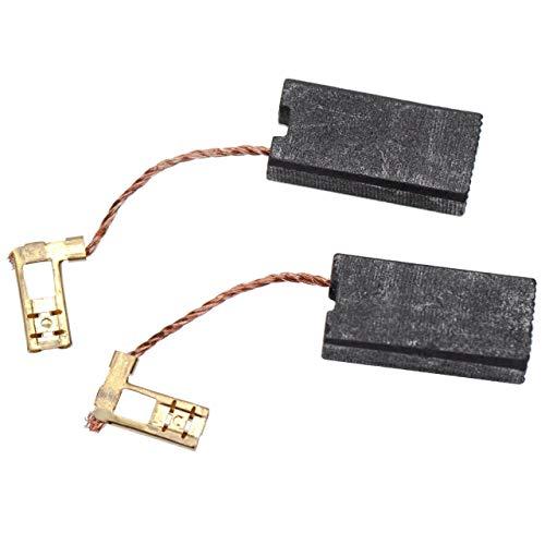 vhbw 2x escobillas de carbono 7 x 12,5 x 26mm compatible con Hilti TE 76, TE 76-ATC, TE 76P, TE 76P-ATC, TE 905 martillo perforador
