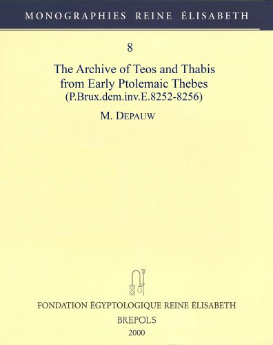 Archive of Teos & Thabis from Early Ptolemaic Thebes, P. Brux.dem.inv.e.8252-8256
