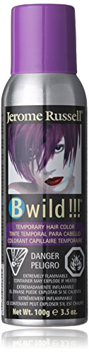 B Wild! by Punky, Temporary Hair Color Spray, Panther Purple, 3.5 oz