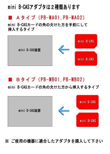 『P-busters PB-MA01 mini B-CAS 変換アダプター B-CAS to mini B-CAS Aタイプ』の3枚目の画像