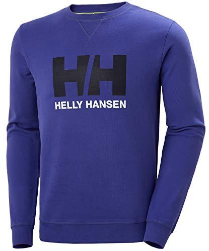 Helly Hansen HH Logo Crew Sweat Sweatshirt Homme, Royal Blue, L
