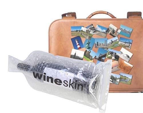 Wineskin - Bolsa de transporte para 1 bata reutilizable