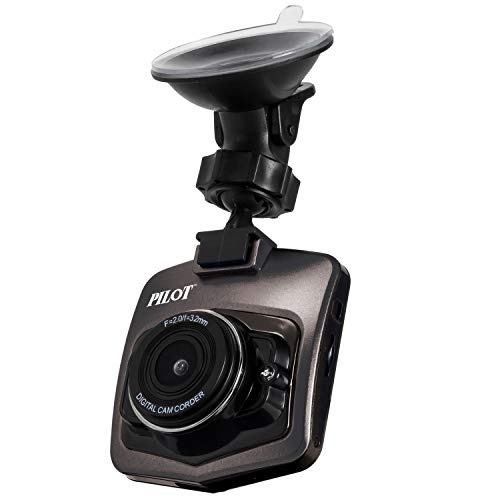 720P Car DVR Dash Camera with SD Memory Card | 120 Degree Wide Angle View, Motion Detection, Loop Recording, Night View