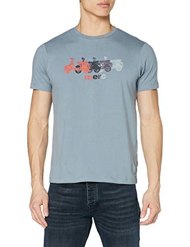 Merc of London Herren MARDEN T-Shirt, grau, L