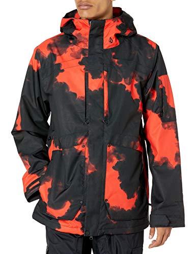 Volcom Herren Scortch Insulated Jacket Thermojacke, Magma Smoke, Large