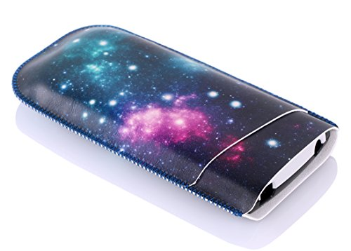 TopGrit Soft Carrying Case Compatible with Texas Instruments TI-84 / Plus CE Graphing Calculator, Galaxy Pattern