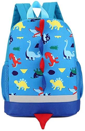 Children's Backpacks,WolinTek Kids Dinosaur Backpack Boys,Toddlers Dinosaur Backpack Children Dragon Backpack Rucksack School Bag for Boys Girls (Blue)