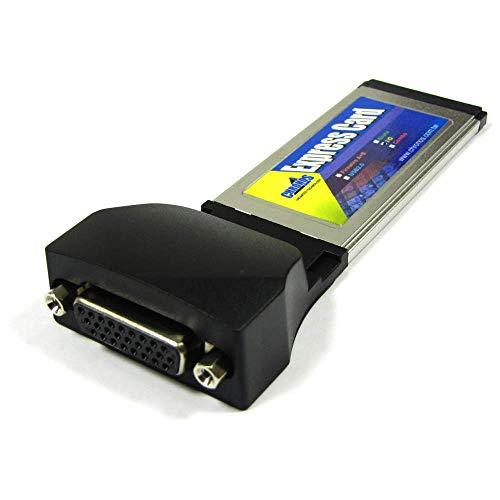 Cablematic - ExpressCard Seriale scheda parallela 1xDB25 1xDB9