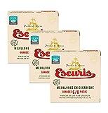 Mejillones en Escabeche Grandes 6/8 piezas frescos y fritos en aceite de oliva en pack de 3 latas con formato RO-120 y peso neto 111gr. (c/u)