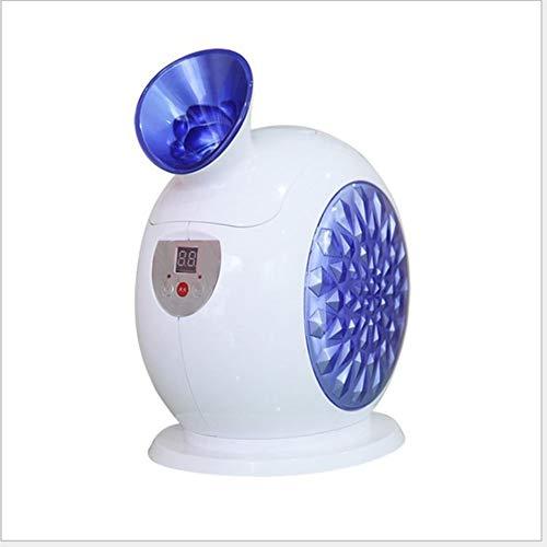 Vaporizzatore Viso, Sauna Facciale, Pulizia Viso Facciale Spa Vaporizzatore, Spa Sauna Vapore Viso Nano Ionico Atomizzatore Home Spa Caldo Mist Idratante Pulizia Pori Clear Skin Care Umidificatore,Blu