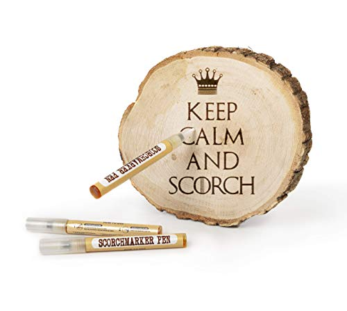ScorchMarker Penna per Pirografia, Bruciatura del Legno, Pirogrammi Lavori e Mestieri Artigianali | Ottima Idea Regalo per Artigiani e Hobbisti Principianti ed Esperti | penna per incidere legno