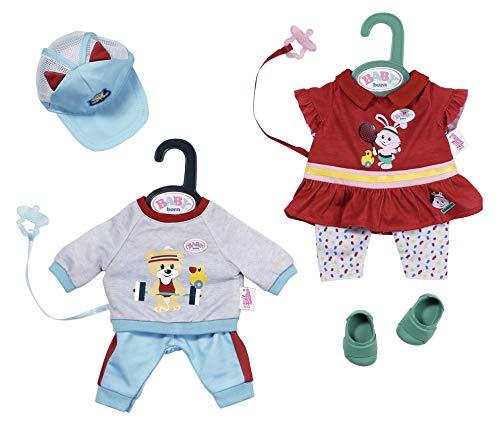 Zapf Creation 827925 BABY born Little Sport Outfit Puppenkleidung 36 cm, 1 Set - Farbe nach Vorrat