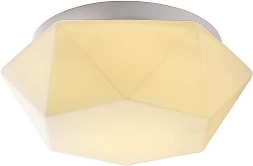 12W, 24W, Lumière Moderne Simple De Salon De LED, Plafonnier Léger De Couloir D'acrylique Rond De Couloir D'acrylique, éclairage Créatif De Chambre à Coucher