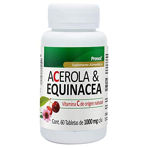 Acerola & Equinacea ADULTO -1000MG- 60 tabletas pronat