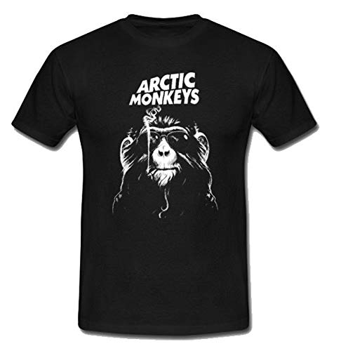 Exceed Artic Monkeys Concer Ameica Band Man T Shirt Size S M L XL-4XL Black