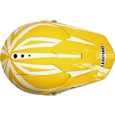 - Dirt Quad Bike Off Road Butterfly M Leopard LEO-X18 Kids Cub Motocrosss Motorbike Helmet 51-52cm