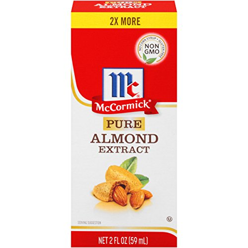 McCormick Extract, 1 OZ (Pack of 6) (Pure Almond Extract)