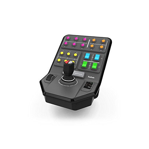Deck de Controle de Equipamento Pesado da Simulação Heavy Equipment Side Panel, Logitech G, Joysticks e Controles para Computador