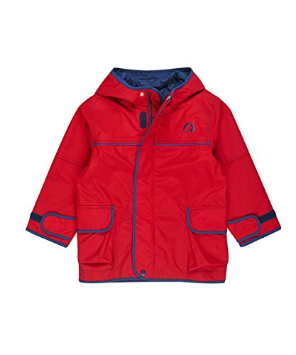 Finkid Tuulis red denim Kinder Zip In Outdoor Parka