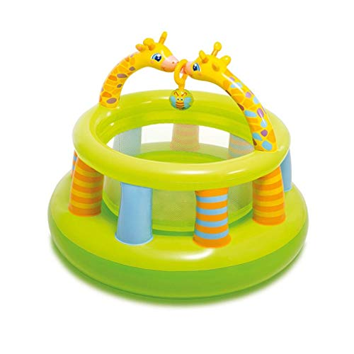 WRJY Castillos hinchables Piscina de Juguete Piscina de Arrastre Valla Inflable Piscina de Juegos Interior Castillo Inflable Juego de Juguete Valla niños (Color