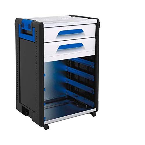 Sortimo 1000004458 WorkMo 24-750 inkl. 2 Schubladen und 8 Kofferschienen