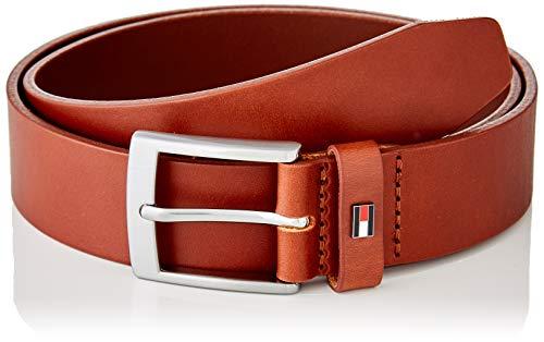Tommy Hilfiger Herren Adan Leather 3.5 Giftbox Winter-Zubehör-Set, Dark Tan, 90