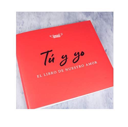 Regalo para Parejas: Libro 'Tú y yo, el Libro de Nuestro Amor'