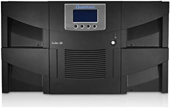 Quantum Scalar I80 Library, One LTO-5 Tape Drive, 50 Slots, 8GB Native Fibre Cha