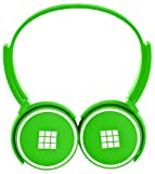Polaroid Volume Limiting 85dB Kids Headphones, The Only CPSIA Certified BPA FREE! Compatible With iPad and Android Tablets Green