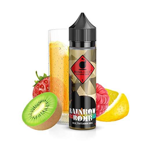 Bang Juice Aroma Rainbow Bomb, Shake-and-Vape zum Mischen mit Base Liquid für E-Liquid, 20 ml