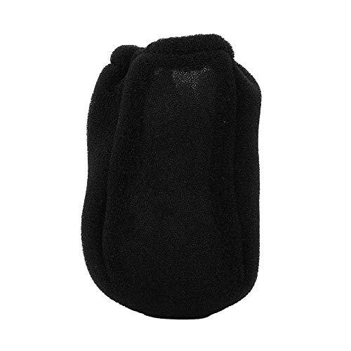 -Cubierta de esponja de esponja abrasiva para el viento, protector de viento de esponja, salón para viajes de cabello en casa