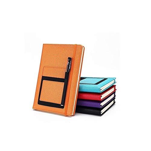 Xyhcs Cuaderno, Cuaderno Exquisito, Cuaderno Grueso A5 - Diario Nota Diario y Plan / 100 Hojas (Color : Brown)