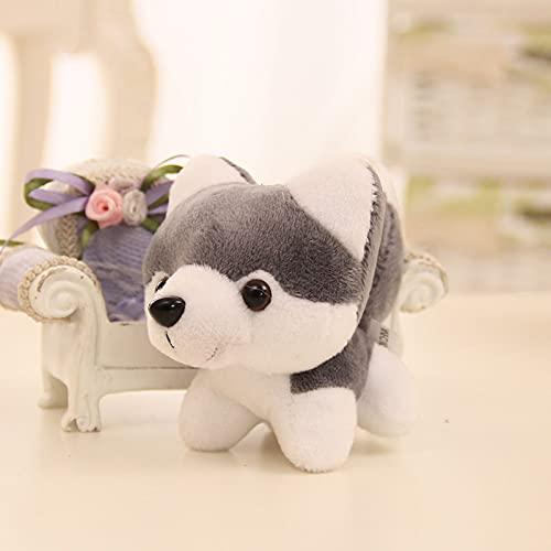 Ggwdhudta Husky Puppy Dog Pelush Colgante de Perro Mascot Mascot Llush Toy...