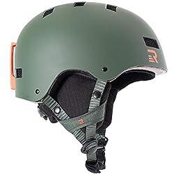 Retrospec Traverse H1 Ski & Snowboard Helmet, Convertible to Bike/Skate