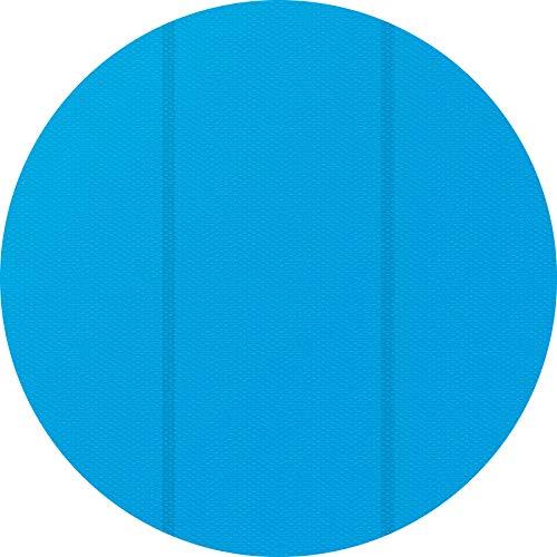 TecTake 800712 Bâche à Bulles Piscine Ronde de Protection, Adaptable à la Taille souhaitée, Bleu - Plusieurs modèles - (3,81 m | no. 403108)