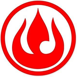 Fire Nation Avatar Logo car vinyl sticker decal 4