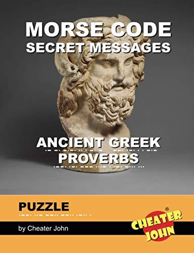 Morse Code Secret Messages Puzzle: Ancient Greek Proverbs