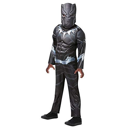 rubies-luxe Black Panther Costume, ragazzo, i-640909m, taglia M