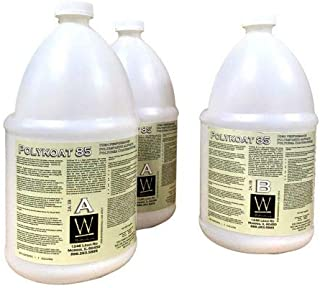 Polyaspartic 85 | High-Gloss, Protective, Polyaspartic Concrete Coating (3 Gallon Kit)