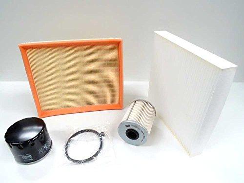 Premium Service Kit 1.9 DCI Diesel 05–07 Cabine d'air carburant filtre à huile Mann NEUF