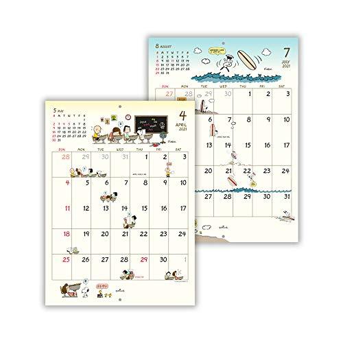 日本ホールマーク スヌーピー 2021年 カレンダー 壁掛け 小 ピーナッツ 775452